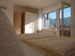 Blick vom Doppelbett
