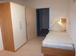 Schlafzimmer mit 2 Einzelbetten, 2,10 m