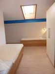 Schlafzimmer mit 2 Einzelbetten,2,10 m